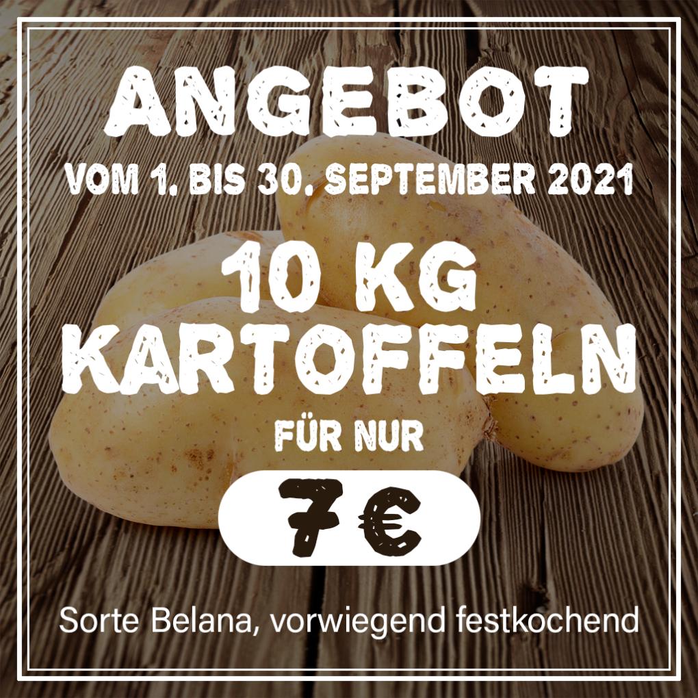 PopUp Kartoffel-Angebot